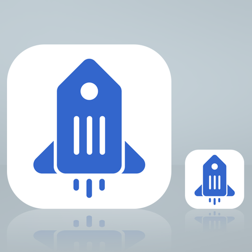 Retail Rocket app icon/ logo