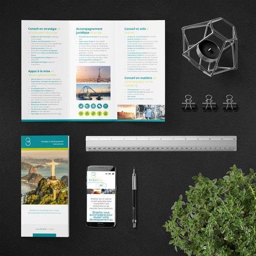 Modern Clean Brochure for Brasilizy
