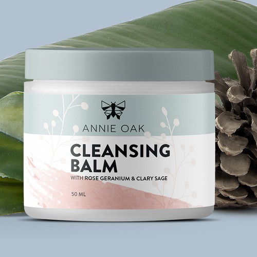 Cleansing Balm label