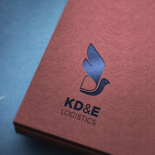 Logo for KD&E Logistics