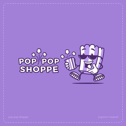 Pop Pop Shoppe Mascot