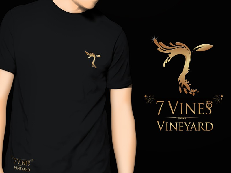 New logo and business card wanted for 7 Vines Vineyard