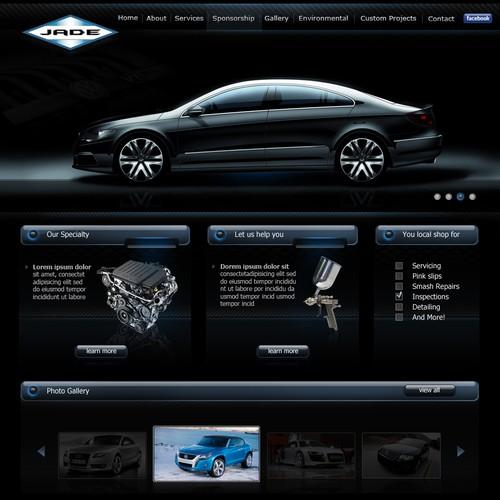 WebDesign For JadeAuto