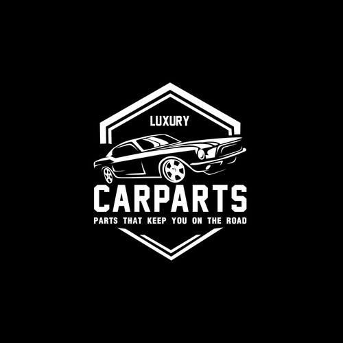 classic Logo for car parts and accessories company