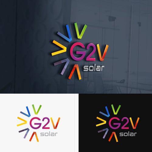 Logo for solar company