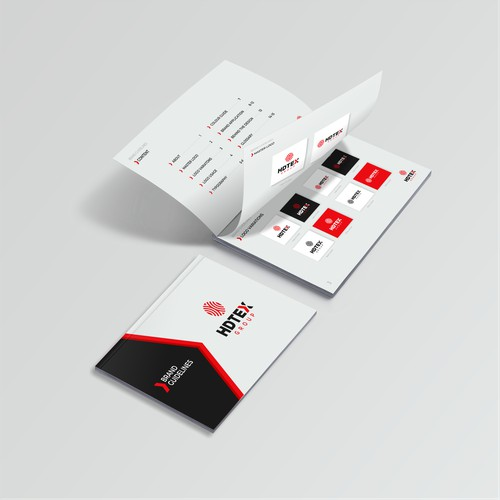 Brand guidelines for HDTEX group