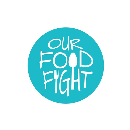 Our Food Fight Podcast Logo