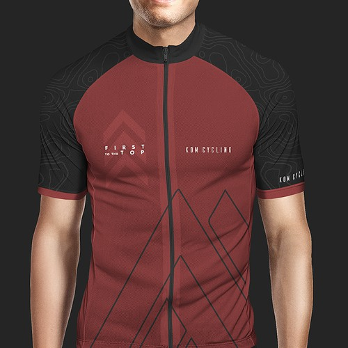 Ciclying kit jersey design