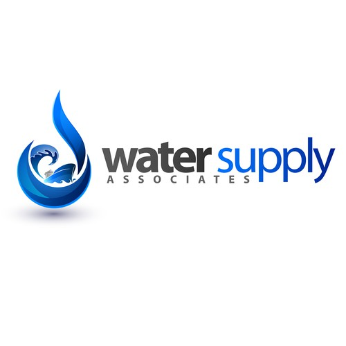 Logo design for Water Supply Company