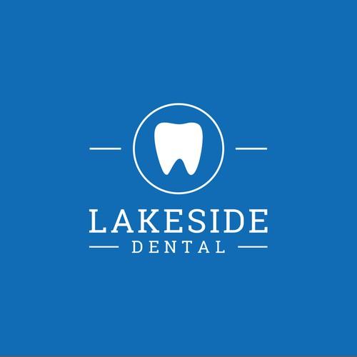Lakeside dental logo