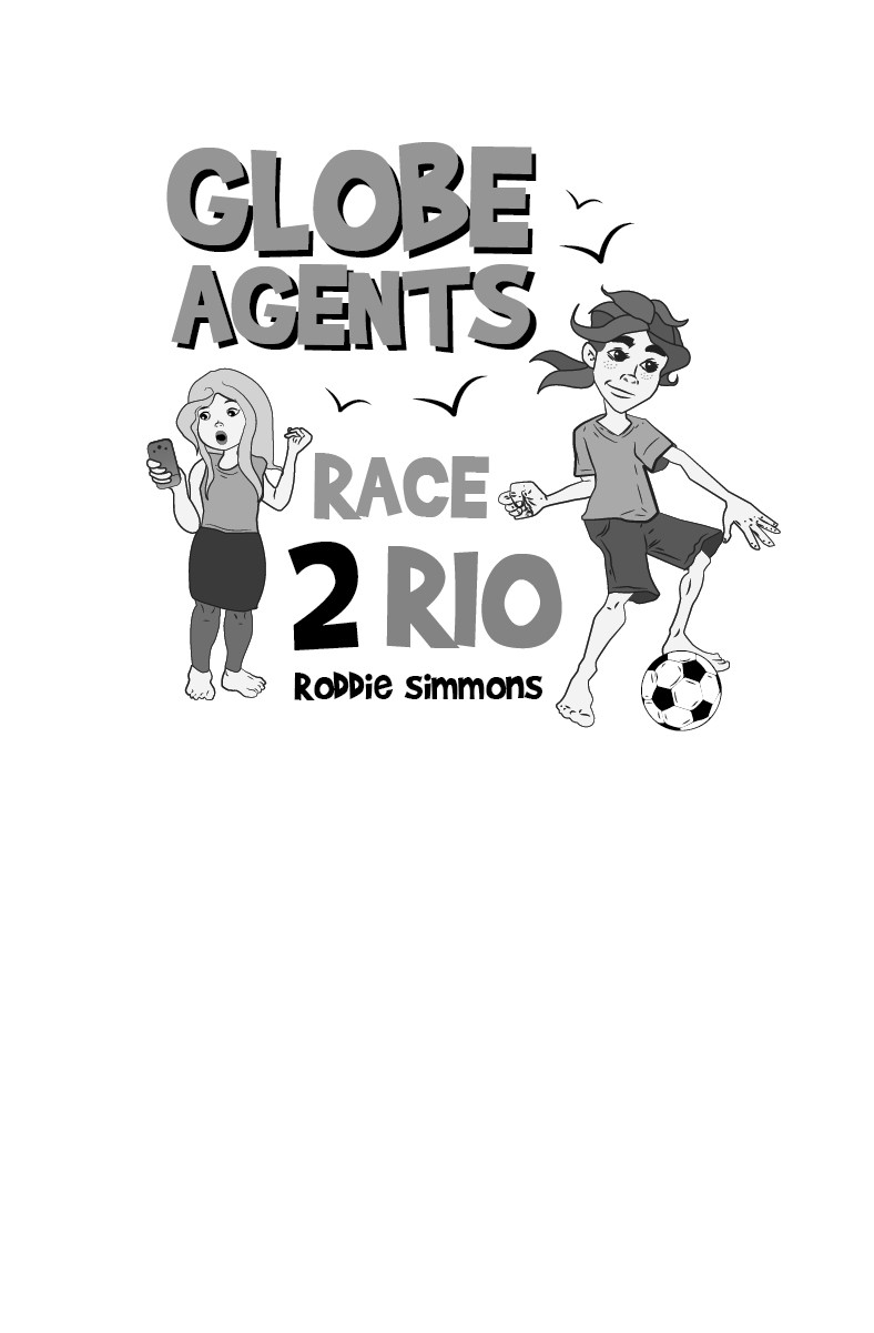 B & W Title Page for Race 2 Rio