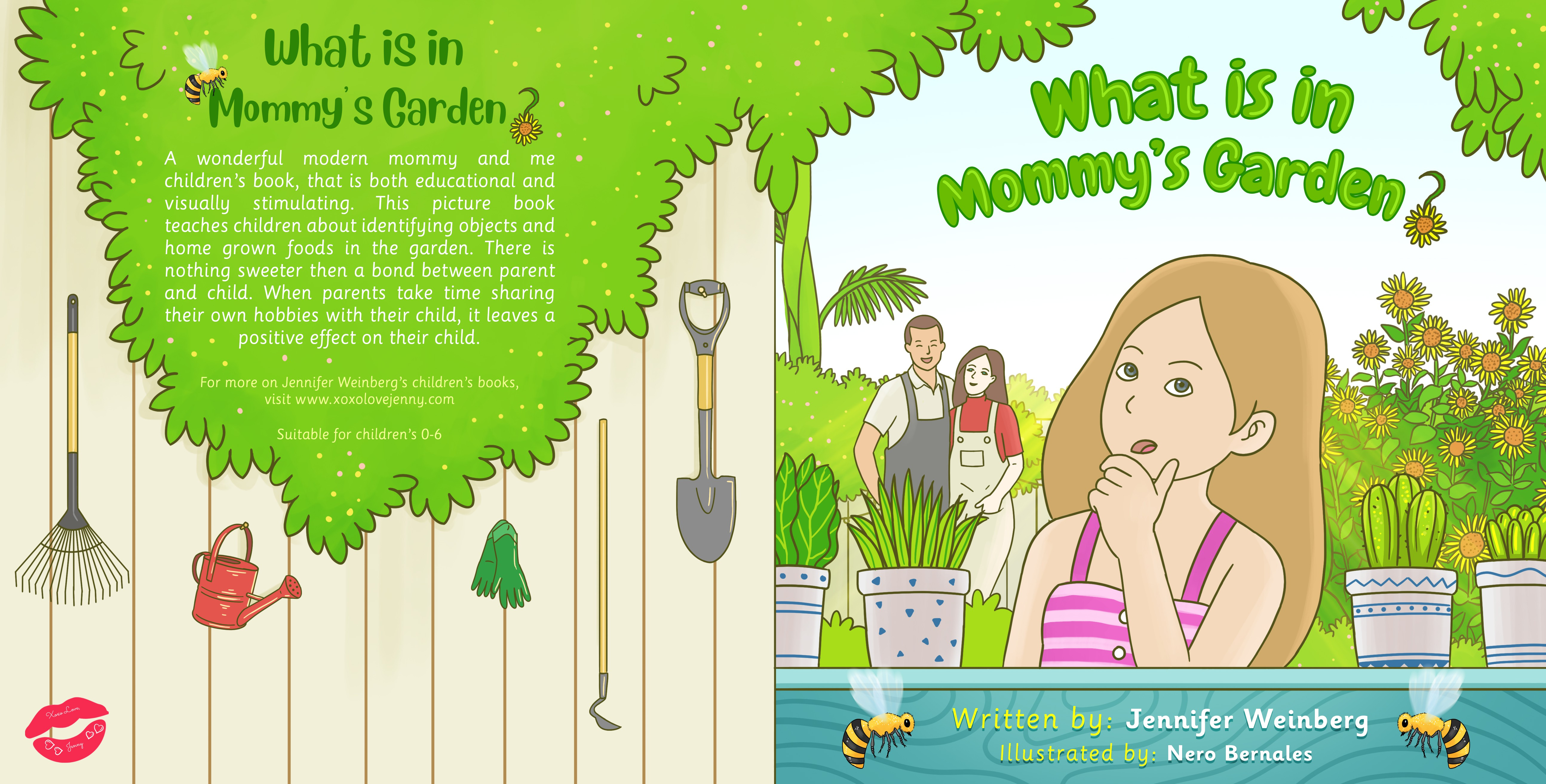 What is in Mommy's Garden?
