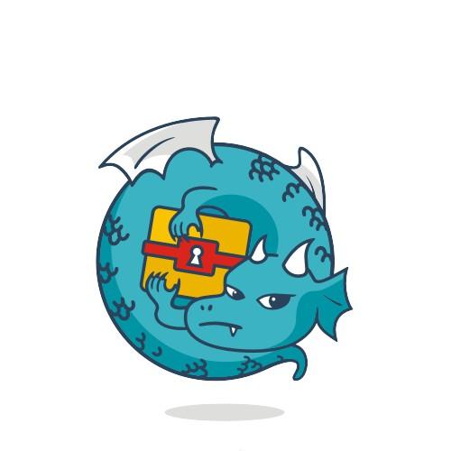 Dragonchain Mascot Logo