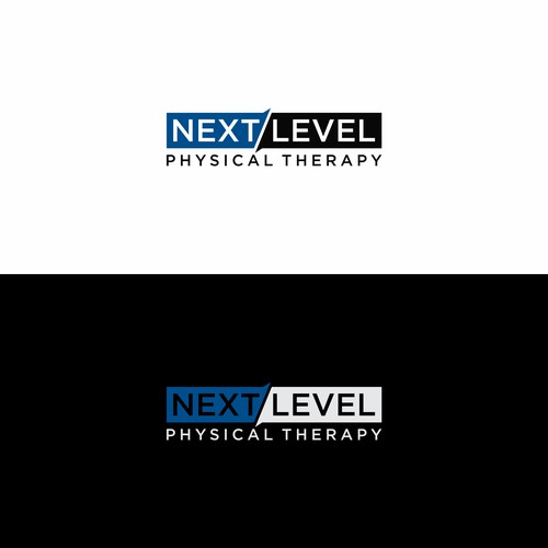 "Simple Wordmark logo concept for physical therapy services ""Next Level"""