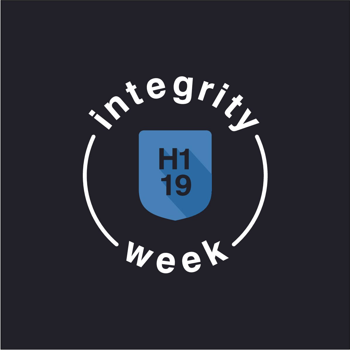 Editing for already existing logo for Integrity Week