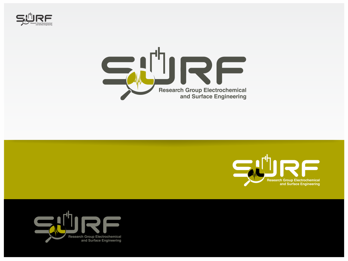 SURF (Research Group Electrochemical and Surface Engineering) needs a new logo