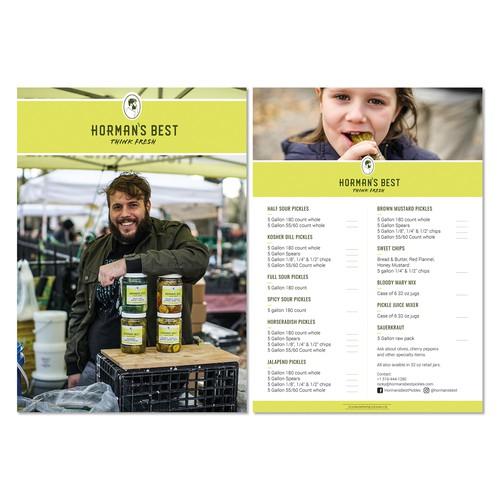 Sales kit/Flyer