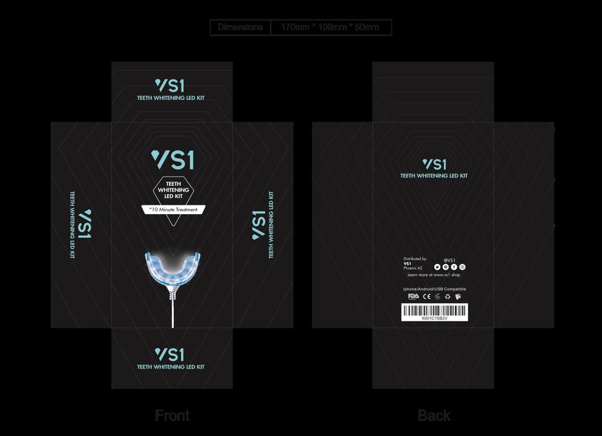 VS1 Teeth Whitening Kit Design
