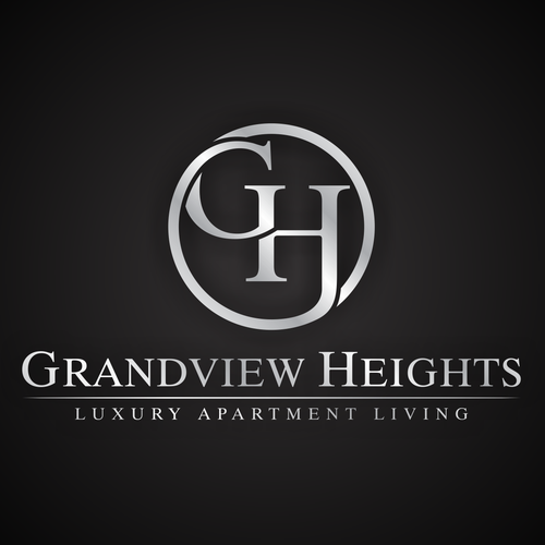 Create a logo for a luxury apartment community