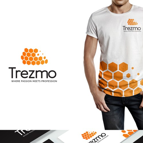 Creative logo for Trezmo