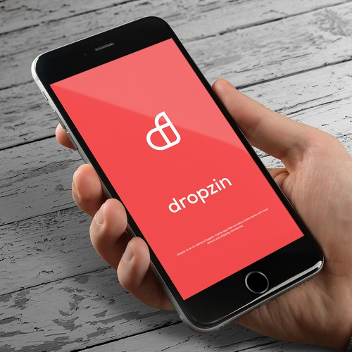 Simple, modern and elegant logo concept for a mobile app