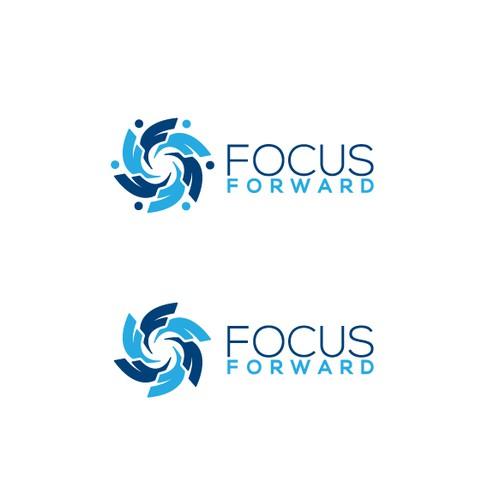 Focus Forward logo design winning entry