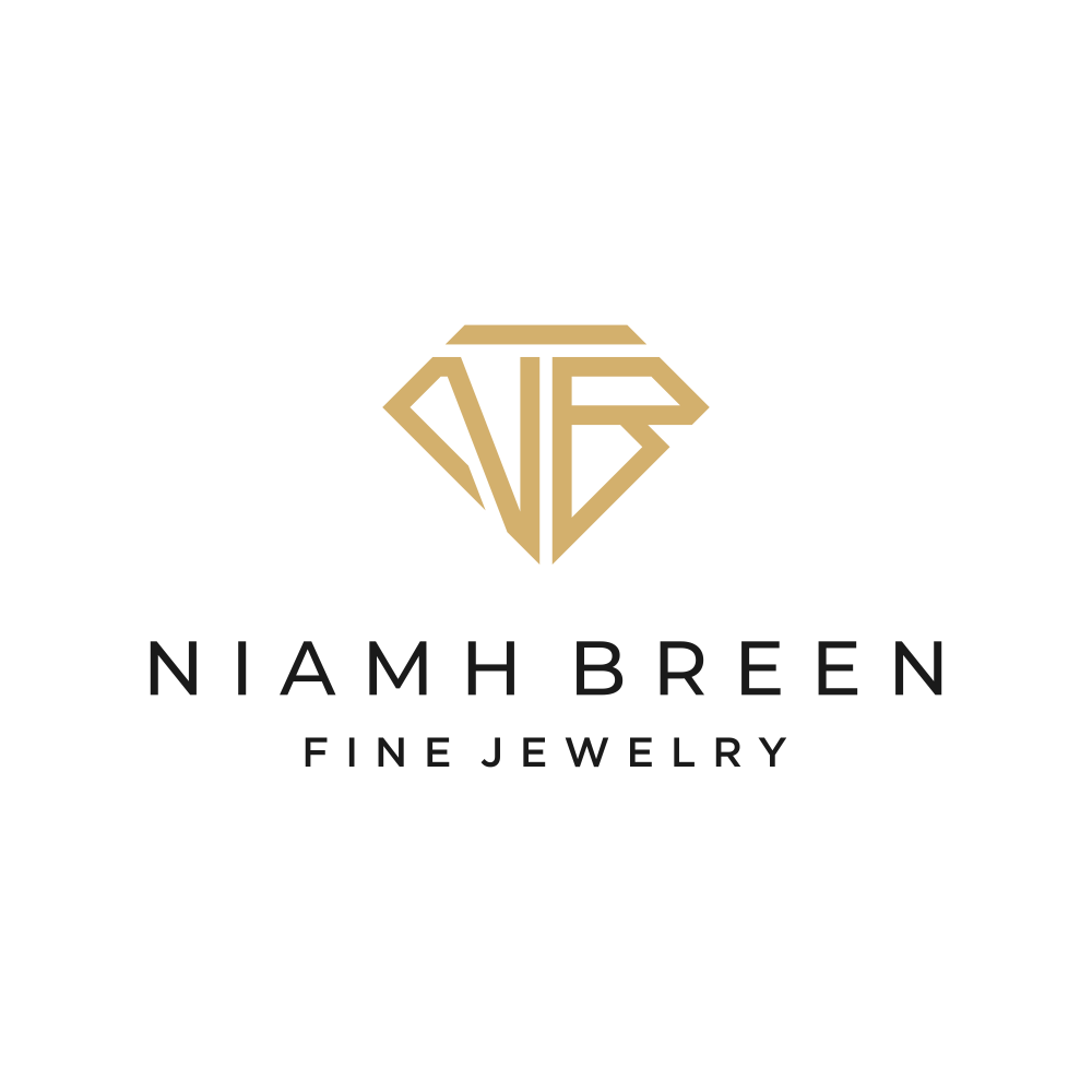 Logo to convey the beauty of rare, magical, sacred gemstones for fine gold jewelry