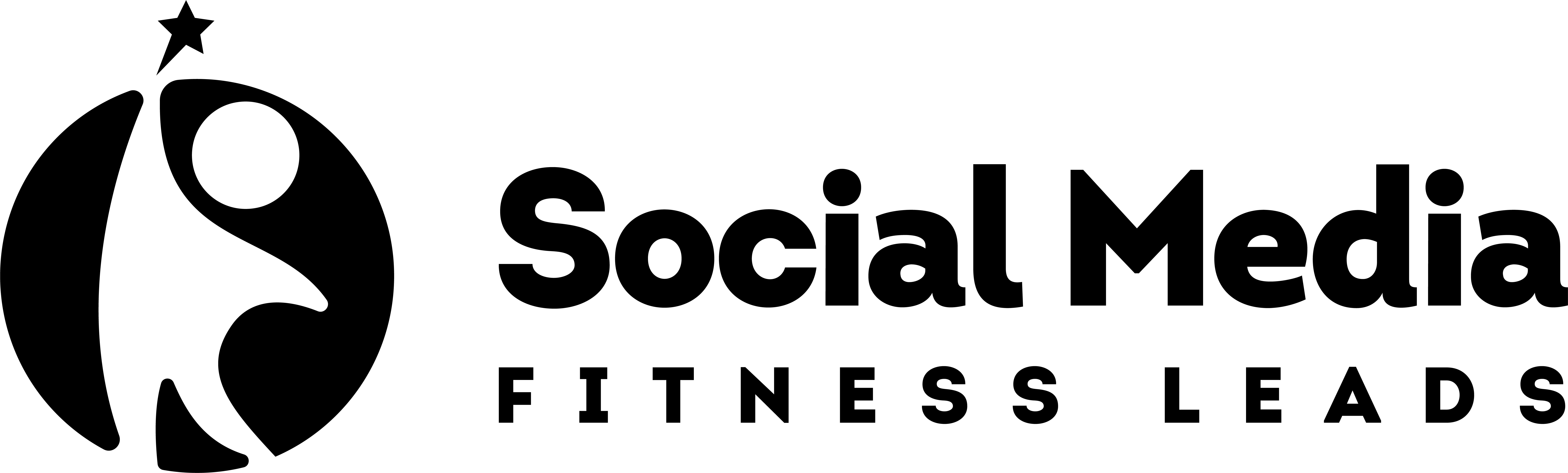 Design a modern social media lead logo for fitness coaches