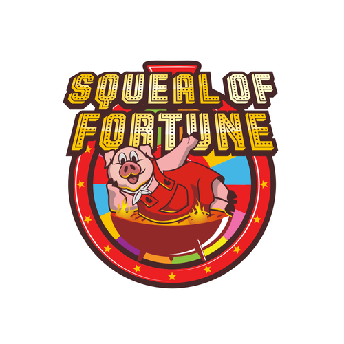 Create a fun and cleaver logo for Squeal of Fortune's BBQ team