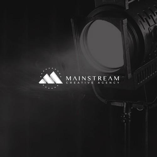 Logo for Mainstream Creative Agency