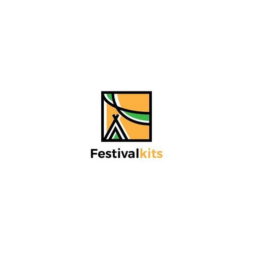 Bold Logo for Festival Kits