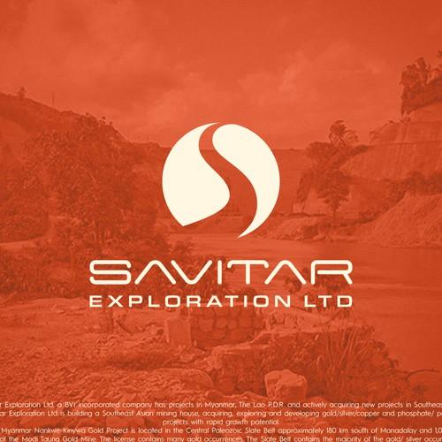 Logo concept for a mining exploration company