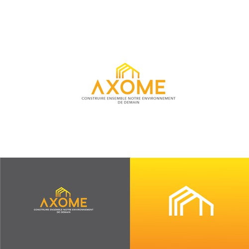 Bold logo for architect firm