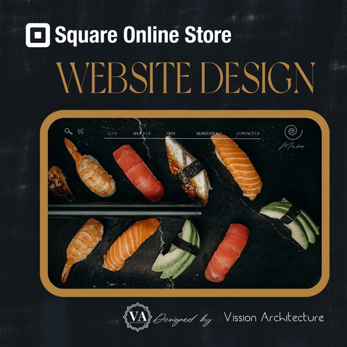 SQUARE ONLINE STORE | Design for Mairo Sushi Restaurant