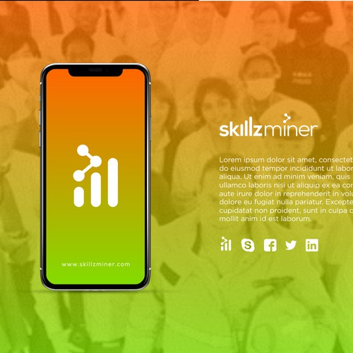 Logo design for SkillzMiner
