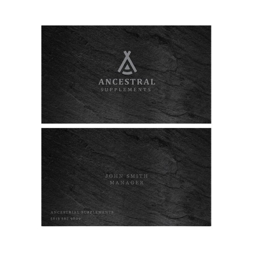 Ancestral Business cards