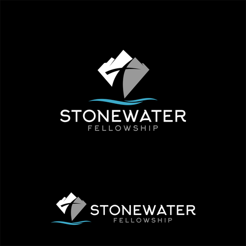 StoneWater Fellowship Logo Design