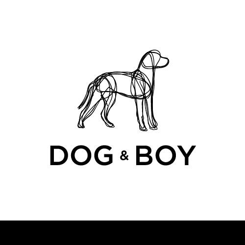 Logo design : Capture the essence of new Melbourne textile designer 'dog & boy'