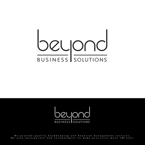 Logo for bookkeeping company Beyond Business Solutions