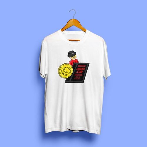 T-Shirt Design For Livemixtapes.com