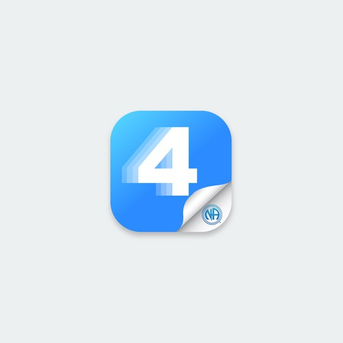 App icon design for Narcotics Anonymous step 4