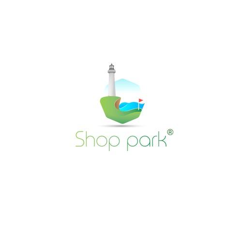 shop park logo