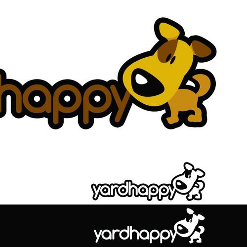 Fun Logo for Helpful Yard & Pet Cleanup Service
