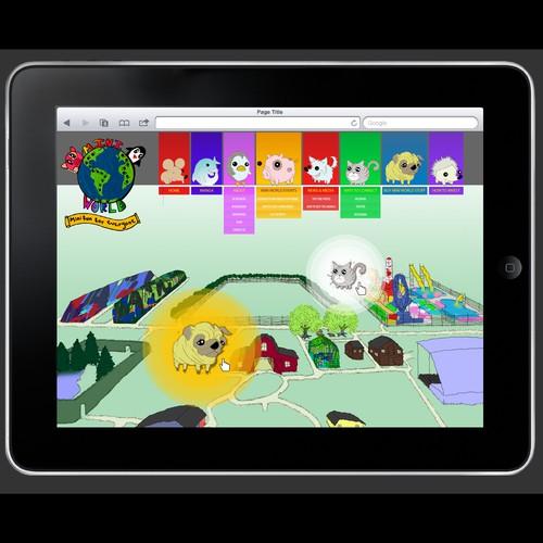 Kid's Play n Fun web page