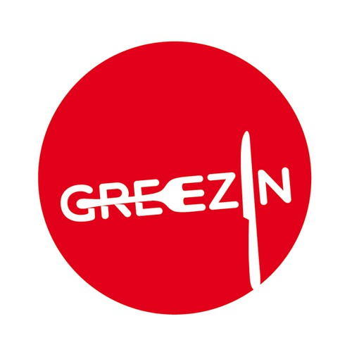 Create an impactful logo for a movie called: GREEZIN
