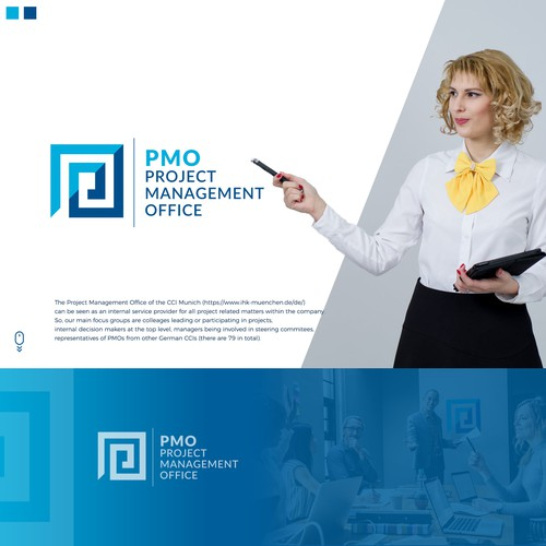 Design a logo for Project Management Office