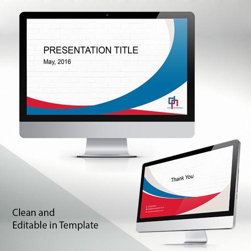 Cover Presentation Template