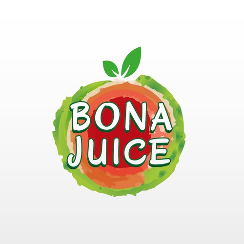 concurso You make the logo, we make cold pressed juices to promote healthy lifestyle.