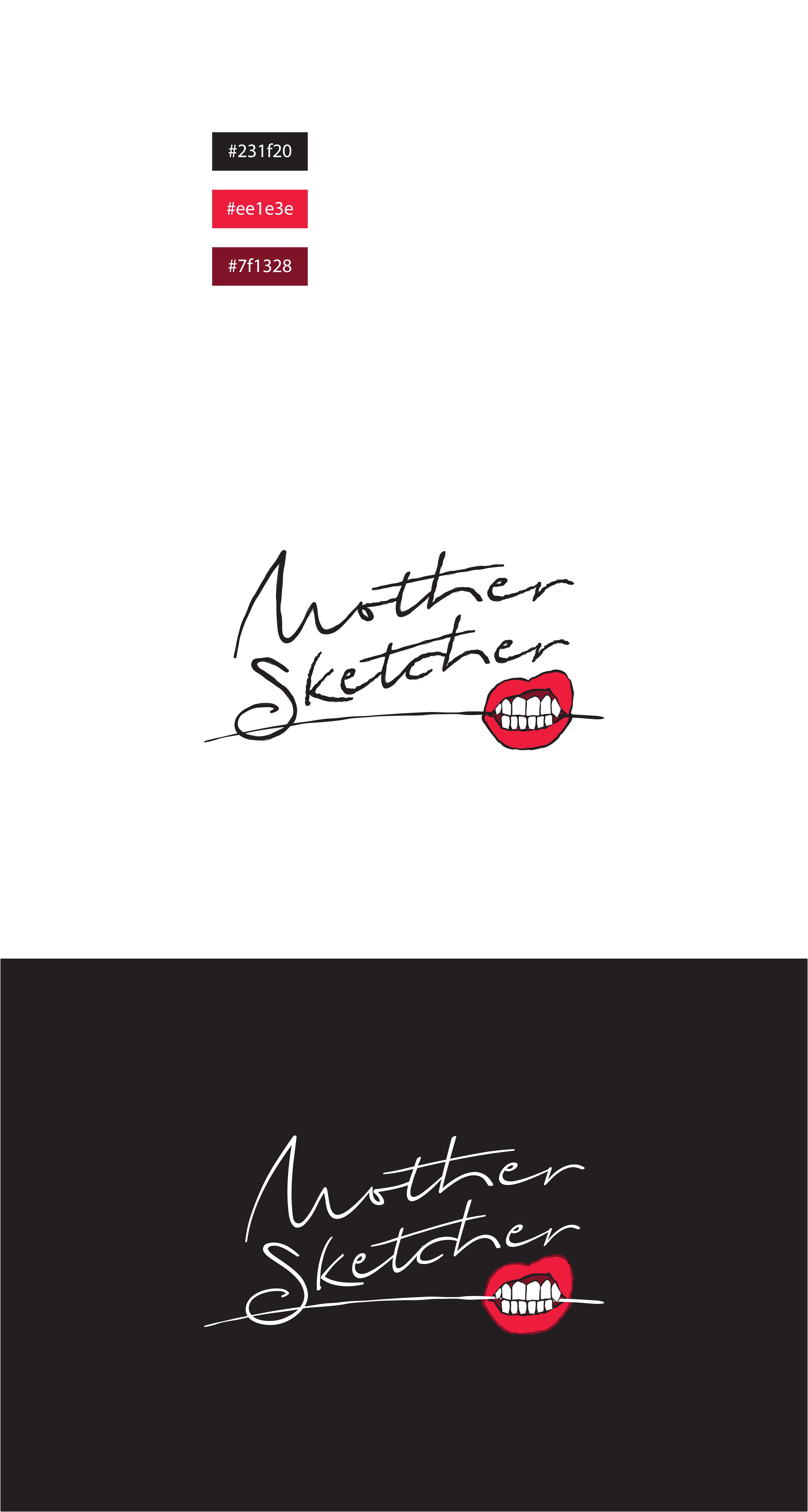 logo for fashion designer who sketches, paints and graffitis vintage clothing and bags