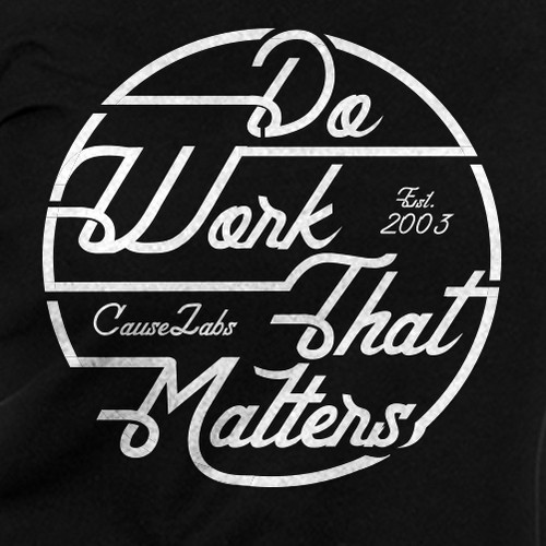 DO WORK THAT MATTERs